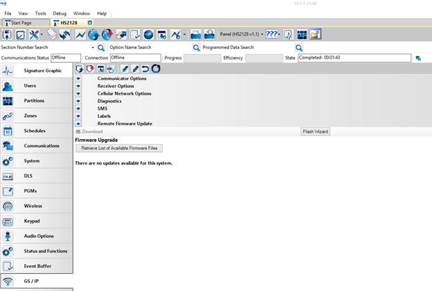 PowerSeries Neo/PowerSeries Pro Remote Firmware Upgrade - DLS5 Wiki